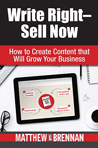 Write Right - Sell Now: How to Create Content That Will Grow Your Business by [Brennan, Matthew]