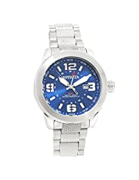 Invicta Men's Coalition Forces Swiss Quartz 200m Stainless Steel Watch 90275