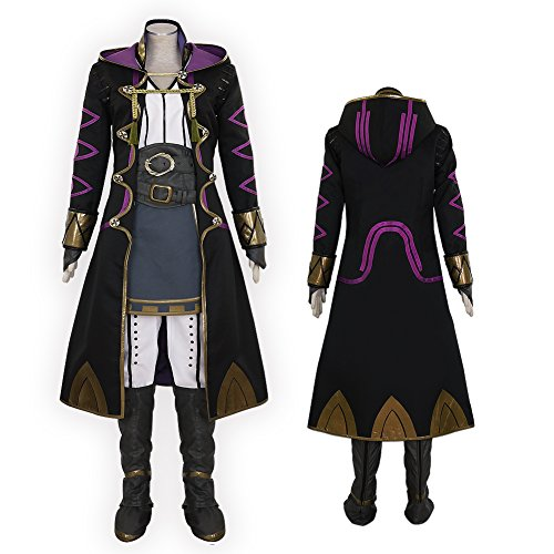 Custom Made Avatar Costumes (CG Costume Men's Fire Emblem Awakening Avatar Mai yunitto Robin Cosplay Costume Large)