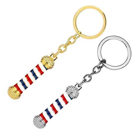 Amazon.com: xiduobao llavero anillos, cadenas de llave de ...