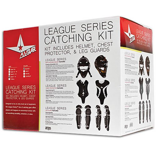 All Star Youth League Series Catchers Gear Sets Ages 7-9