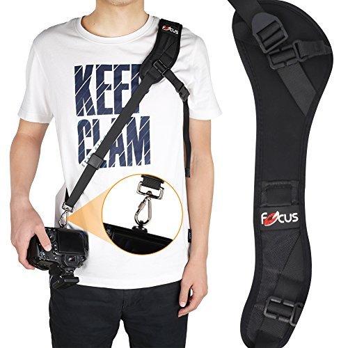 YOHOOLYO Camera Strap Focus F-1 Quick Rapid Strap Black Rapid Camera Strap Camera Shoulder Sling Belt for Camera DSLR