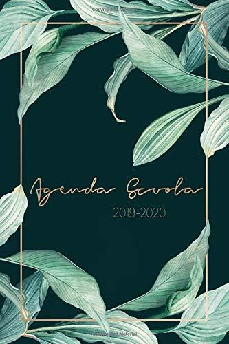Agenda Scuola 2019 - 2020: Calendario Agosto 2019 - Agosto ...
