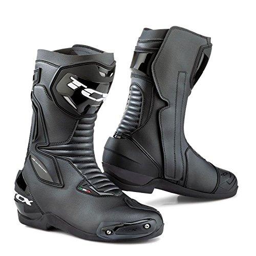 Tcx Mens Stivali Da Moto Da Strada Sp-master - Nero Taglia 47 Nero