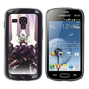 Stuss Case / Funda Carcasa protectora - Unsc - Master Ch1Ef Warrior Hal0 - Samsung Galaxy S Duos S7562