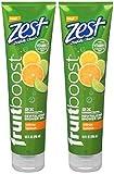 Zest Fruitboost Citrus Sp Size 10z Zest Fruitboost Citrus Splash 10z