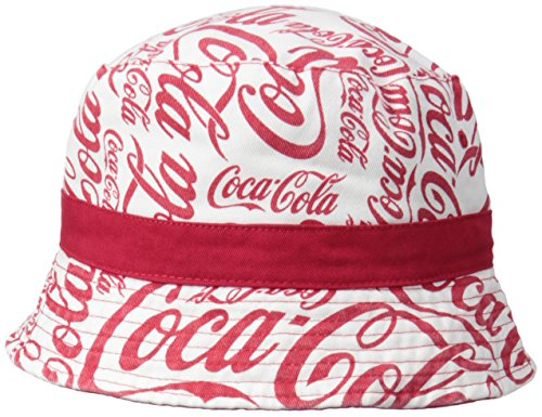 Coca Cola Mens Reversible Print Bucket