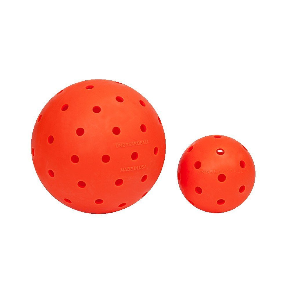 Unbreakoball 6  Dog Toy orange