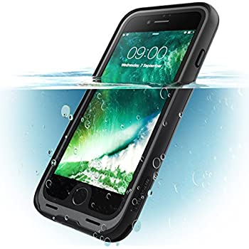 i-Blason iPhone7-WaterProof-Case-Black Waterproof Full-body Rugged Case for iPhone 7 - Black