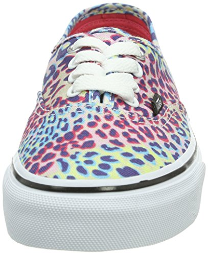 Vans Authentic, Zapatillas Unisex Bebé Multicolor (Leopard Multi/True White)