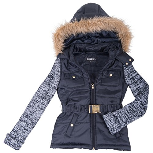 39767-typicalblack-7-8-girls-puffer-jacket-sweater-sleeves-coat-with-hood