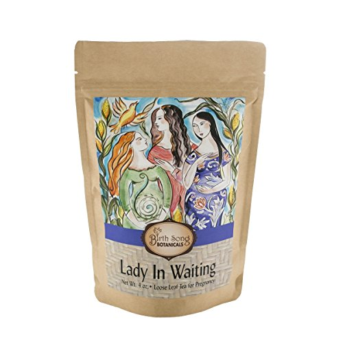 Birth Song Botanicals Lady in Waiting Best Pregnancy Tea with Organic Raspberry, 40 Servings in Bag Review