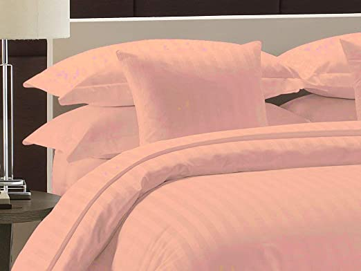 PEACH SOLID 800 THREAD COUNT SHEET SET 100/% EGYPTIAN COTTON SELECT YOUR SIZE