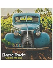 Classic Trucks 2022-2023 Calendar: Classic Trucks monthly 2022-2023 calendar 18 months size 8.5x11 inch with high quality images gift for everyone