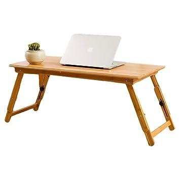 Altura ajustable de la pata de la mesa de bambú (24-34) cm ...