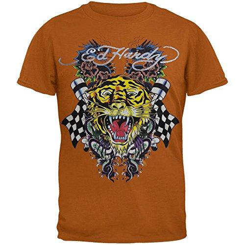 Ed Hardy - Tiger and Dragon Roar Tan Youth T-Shirt - Youth (Ed Hardy Baby Girl)