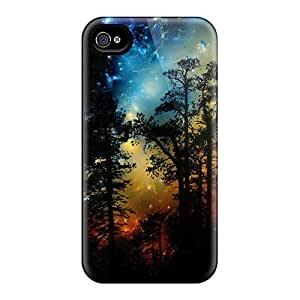 New HTC One M7 Cases Covers Casing(forest Space)