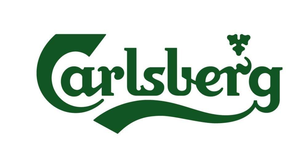 ca. 570/ml Carlsberg Bierglas 1/Pinte