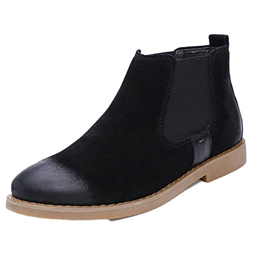Hombre Martin Boots Botines Chelsea De Cuero De Otoño E Invierno Que Luchan A Pie Zapatos De Nieve Formales: Amazon.es: Zapatos y complementos
