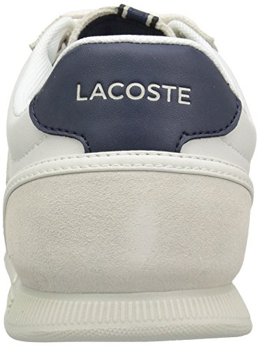 Lacoste Men's Menerva Sneakers Off White/Nvy Suede cheap sale shop for cheap pay with visa quality free shipping cheap for sale TJYAyFzI0