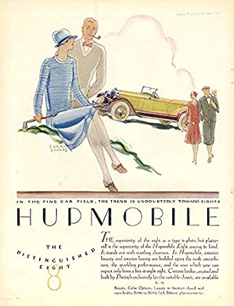 The Trend Is Undoubtedly Towatd Eights Hupmobile 8 Touring