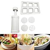 Tpingfe DIY Noodles Maker, Slicer Cutter Manual Noodle Machine Kitchen Pasta Tool Juicer (B)