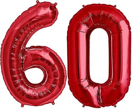 2 Approx.100cm Ballon Num/éros en Rouge pour Anniversaire danniversaire /& Party Cadeau Party D/écoration Feuille Ballon Numero Ballons Joyeux Anniversaire 0 ~ 9 FUNXGO XXL Foil Ballon