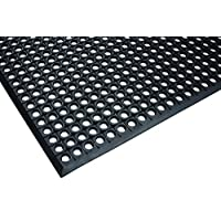 Durable Workstation Light Rubber Anti-Fatigue Drainage Mat for Wet Areas, 3