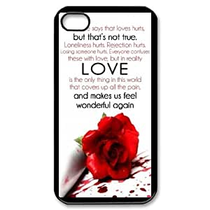 Quotes For iPhone 4,4S Csae protection Case DH582415