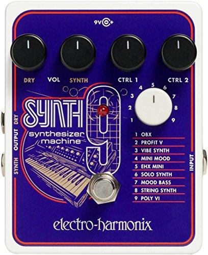 [해외] electro-harmonix 일렉트로하모닉스 이펙터 신디사이저 머신 SYNTH9 Synthesizer Machine [국내 정규품]