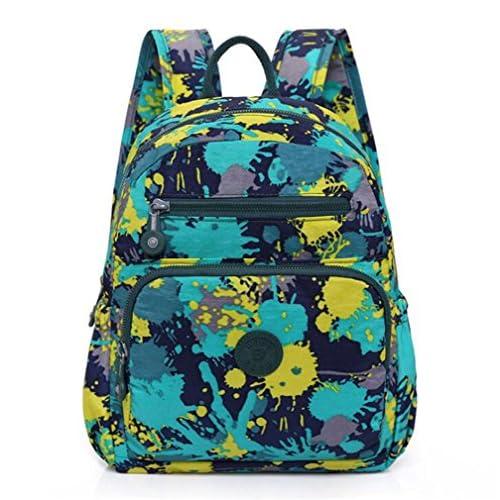 Wmshpeds Les épaules de femmes marée coréen sacs sac à dos Sac à dos de voyage Sports Loisirs Sac d'étudiant