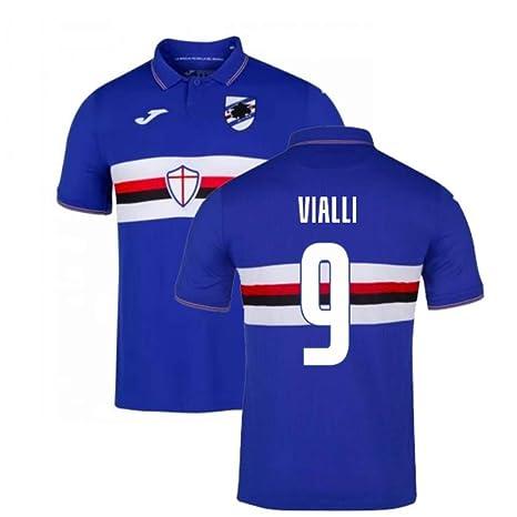 UKSoccershop 2019-2020 Sampdoria Joma - Camiseta de fútbol ...