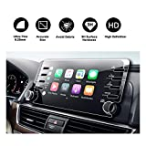 #10: 2018 Honda Accord Sport EX EX-L Touring EX-L Navi Navigation Screen Protector,HD Clear Tempered Glass Screen Scratch-Resistant Ultra HD Extreme Clarity (2018 8In Clear)