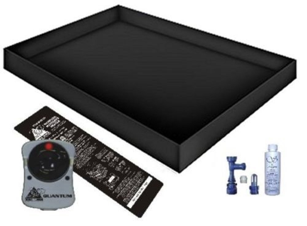Solid State WATERBED Heater Liner Fill Drain Conditioner Bundle (California King 72x84 Quantum Good)