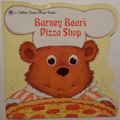 Barney Bear - Barney Bear's Pizza Shop