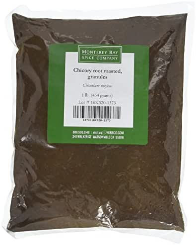 CHICORY ROOT Roasted Granules 1 LB Bags – NATURAL Coffee and Tea Substitute – CAFFEINE FREE Beverage CERTIFIED Kosher (2 Bags (32 oz))