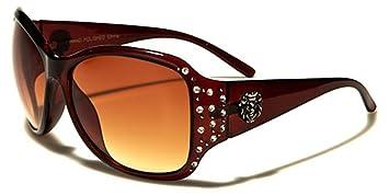 Kleo Sonnenbrillen - Mode - Fashion - Pilotenbrille - Radfahren - Skifahren - Motorradfahrer / Mod. Sicilia Bernstein fuMd3C