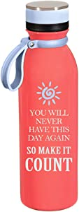 Cypress Home Stainless Steel Water Bottle, 20 Ounces