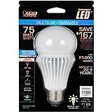 Feit Electric BPAG1100DM/5K/LED A19 LED 75 watt equivalent daylight