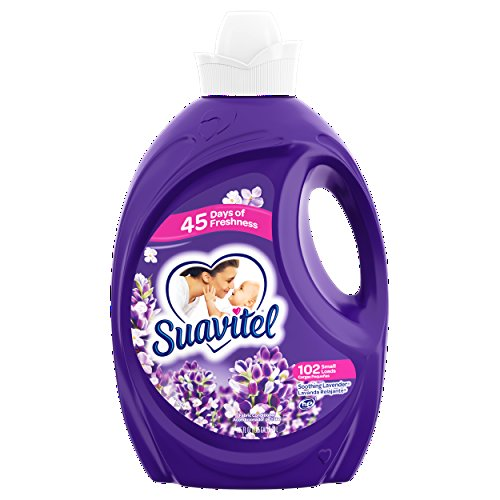 Suavitel Soothing Lavender Fabric Conditioner, 92 Small loads, 135 fl oz (1) ()