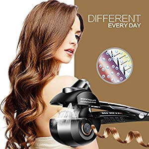 Prizaco online store Professional Pro Perfect Hair Curler Roller with Revolutionary Automatic Curling Technology for…
