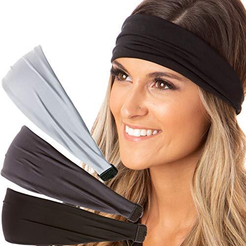 Hipsy Adjustable Stretchy Basic Headbands product image