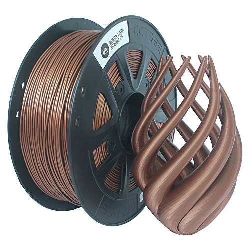 3d Printer Consumables Fast Deliver Extrudr Computers/tablets & Networking Petg-bronze-1.75mm-1100g Less Expensive