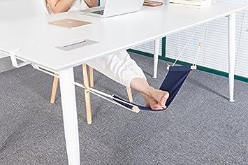 Pied hamac bleu foncé pieds réglables repose poignet ergonomique