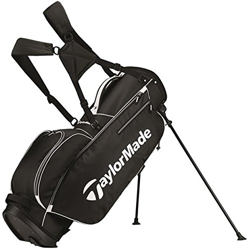 TaylorMade 2017 TM 5.0 Stand Golf Bag, Black/White by TaylorMade
