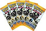 Pokemon DP6 Legends Awakened Booster Pack (5 Pack Lot) [Toy]