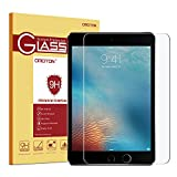 ipad 1 screen protector - OMOTON Ultra Clear 9H Hardness Tempered-Glass Screen Protector for New iPad 9.7