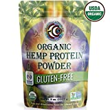 New Vegan Hemp Plant Protein Powder, 100% Gluten Free, Sugar Free, Raw, Great For Meal Replacement Shakes, Sport Preworkout And Post Workout, Perfect For Keto Diets.