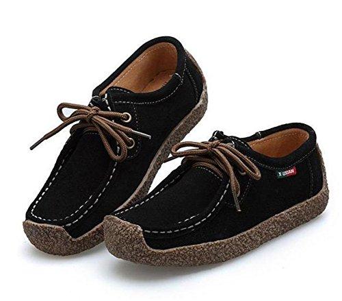 187 l run women s casual comfortable suede walking shoes flat