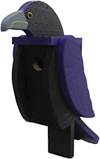 product image for DutchCrafters Wood Bird Shaped Birdhouse (Raven)